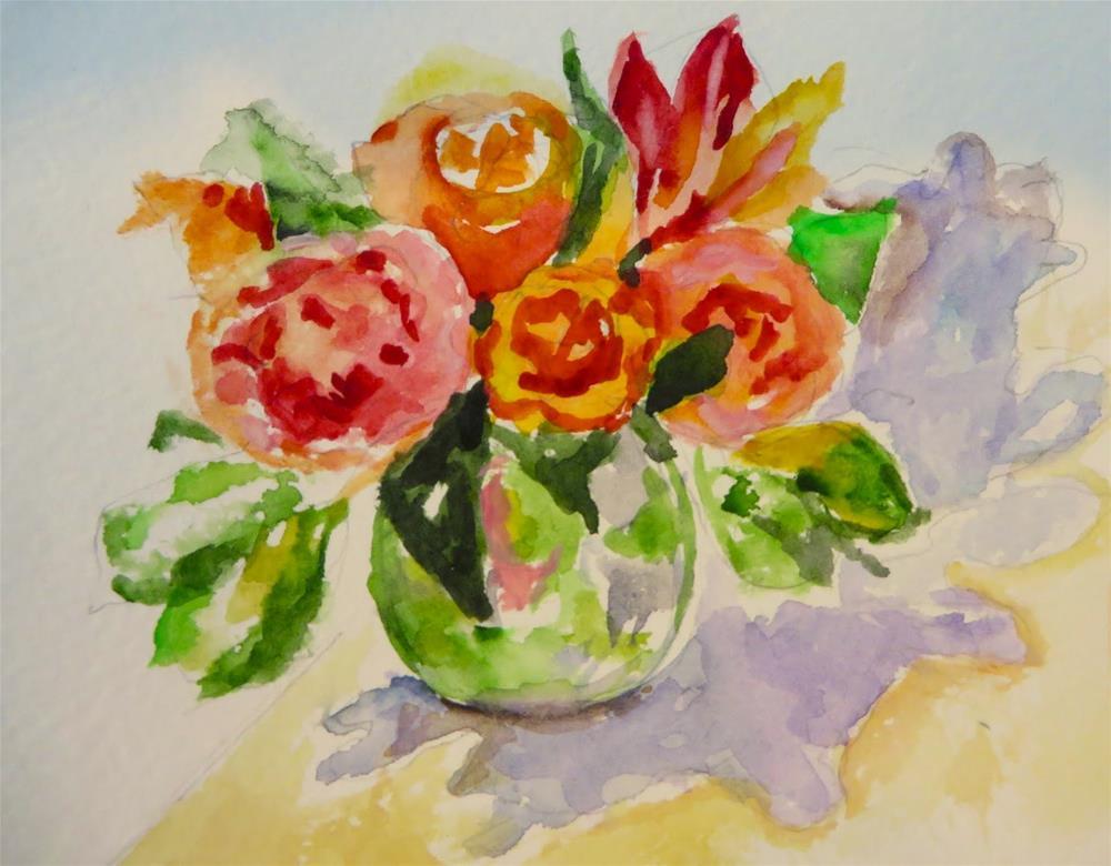 """589 Retail Therapy"" original fine art by Diane Campion"