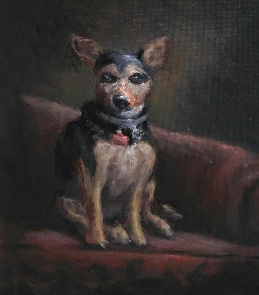 """""""Little Molly"""" original fine art by tom dawson"""