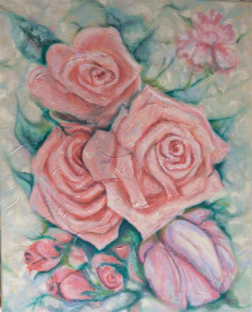 """Breath of Spring"" original fine art by Karen Roncari"
