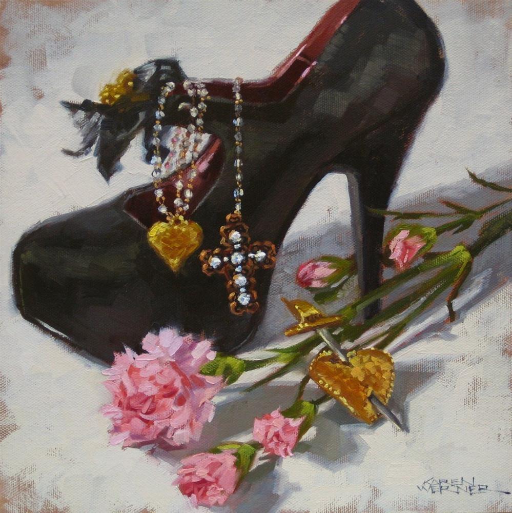 """Memories"" original fine art by Karen Werner"