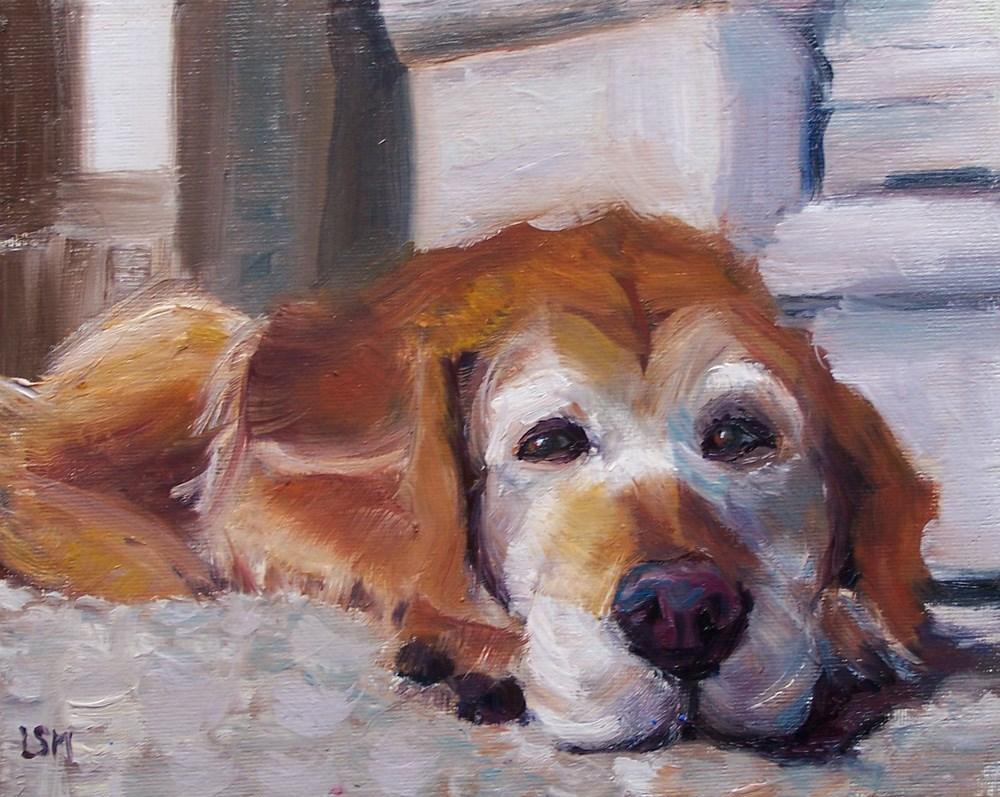 """Take it Easy"" original fine art by Linda Marino"