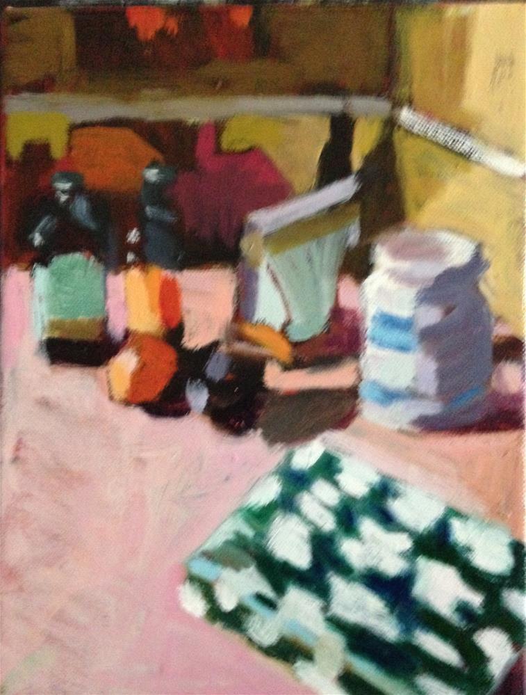"""Kate Spade"" original fine art by Pamela Hoffmeister"