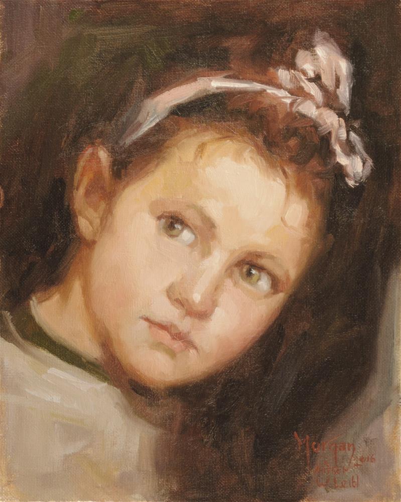 """After Wilhelm Leibl"" original fine art by Cecile W. Morgan"