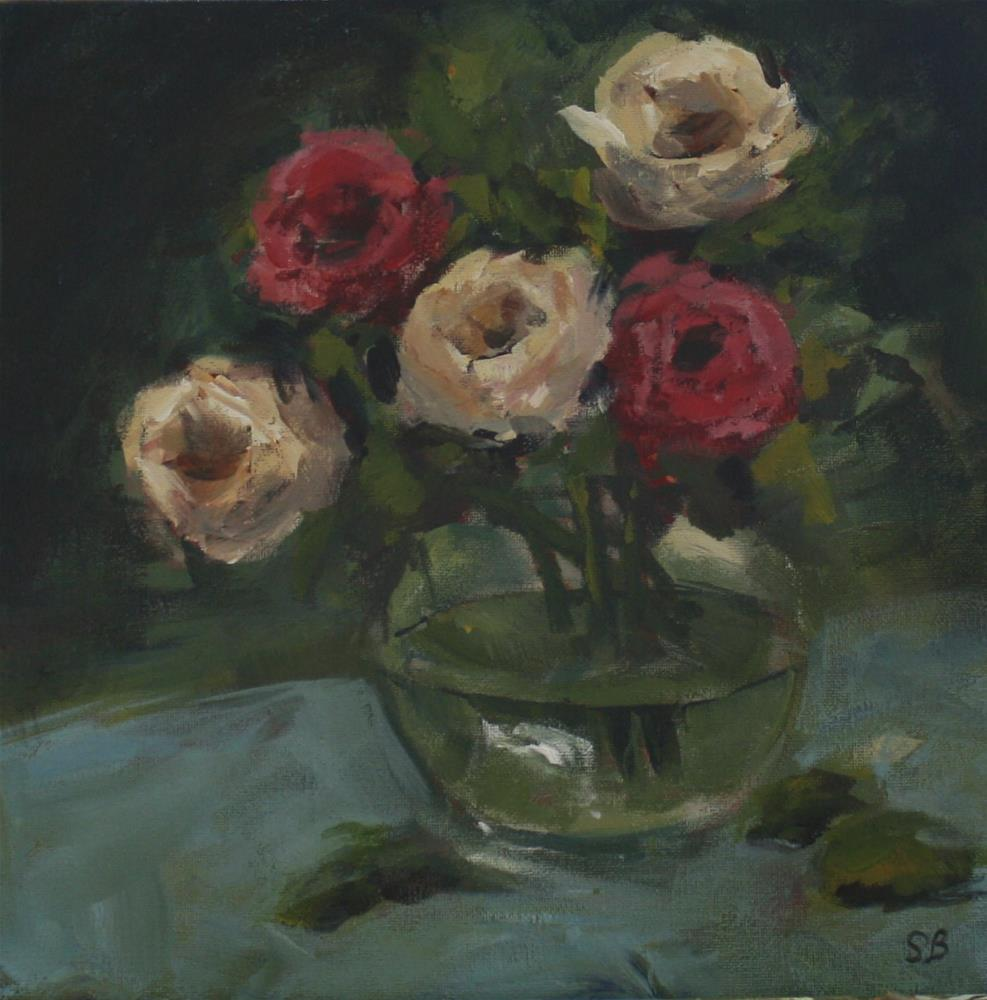 """""""Mixed Roses"""" original fine art by Shannon Bauer"""