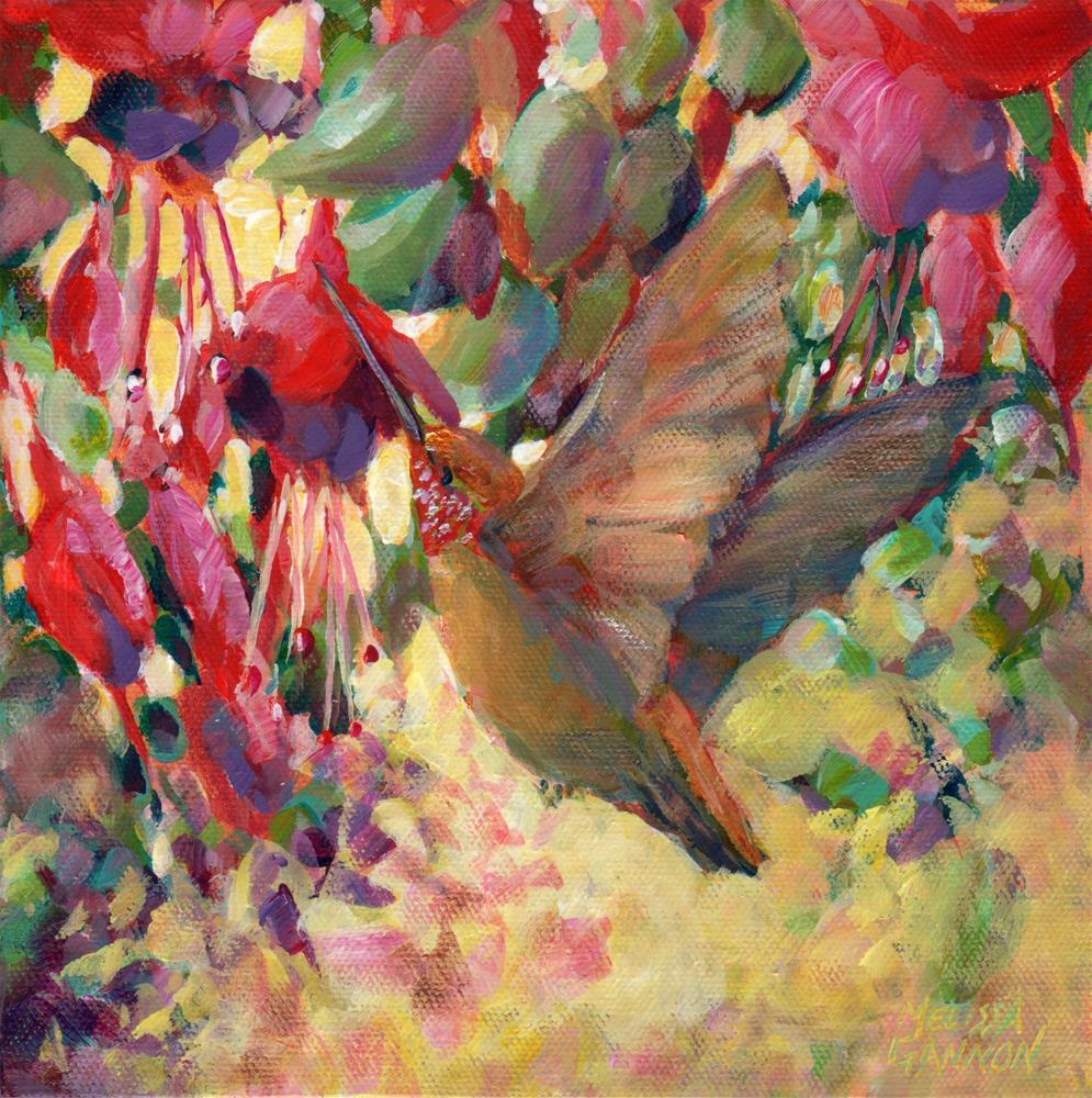 """Flight Path"" original fine art by Melissa Gannon"