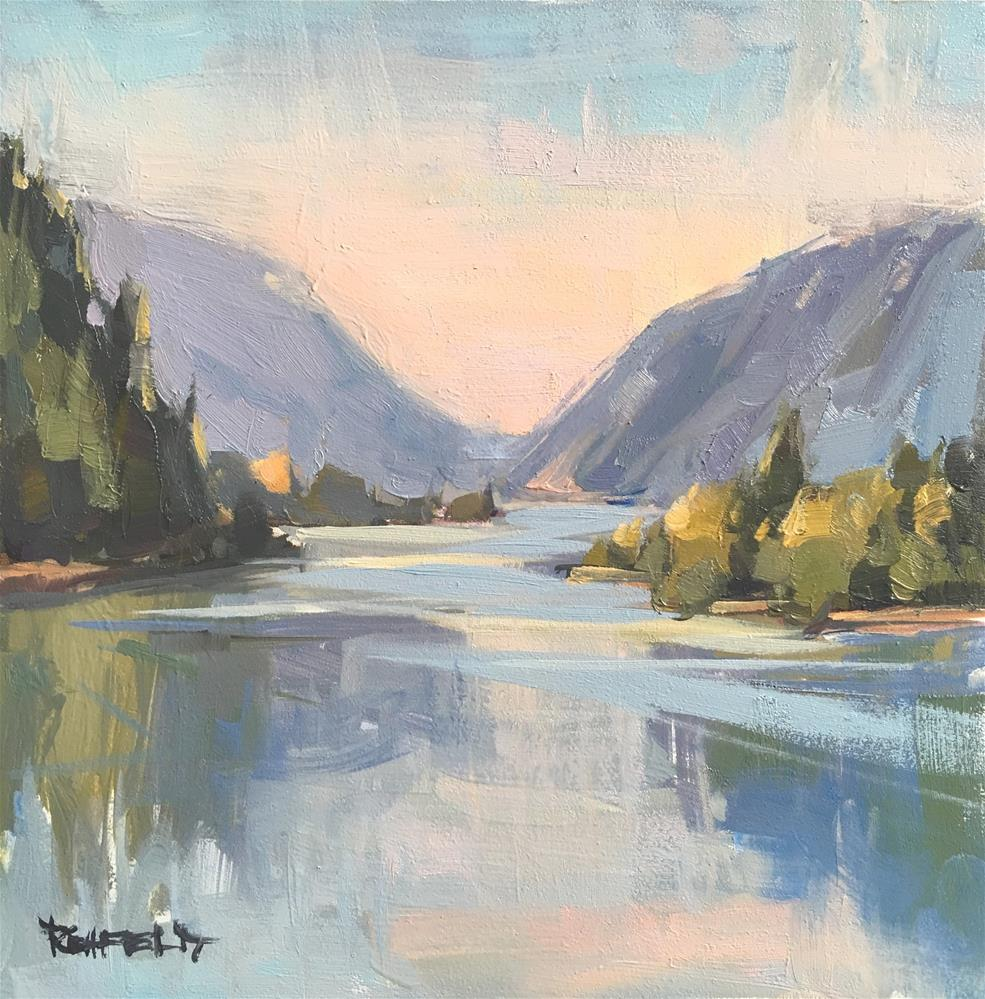 """Columbia River Gorge"" original fine art by Cathleen Rehfeld"