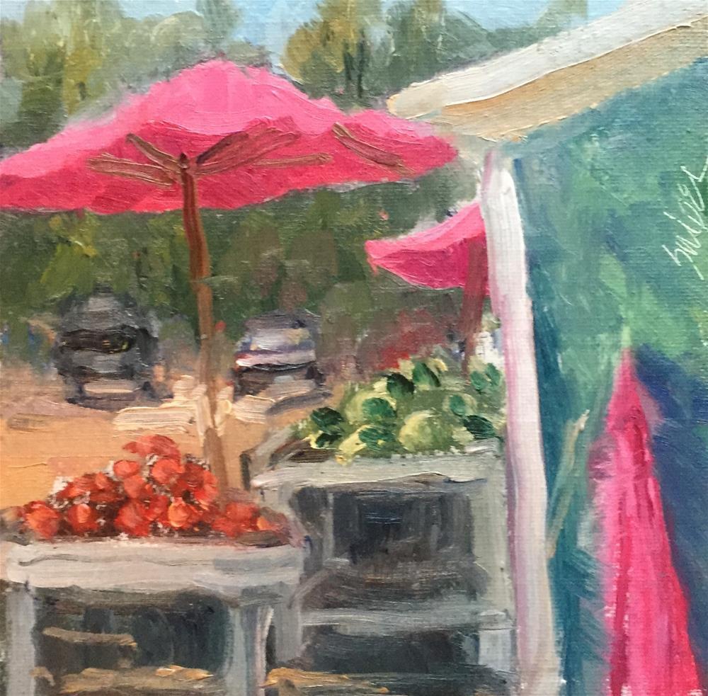 """Eat Your Veggies"" original fine art by Connie Snipes"