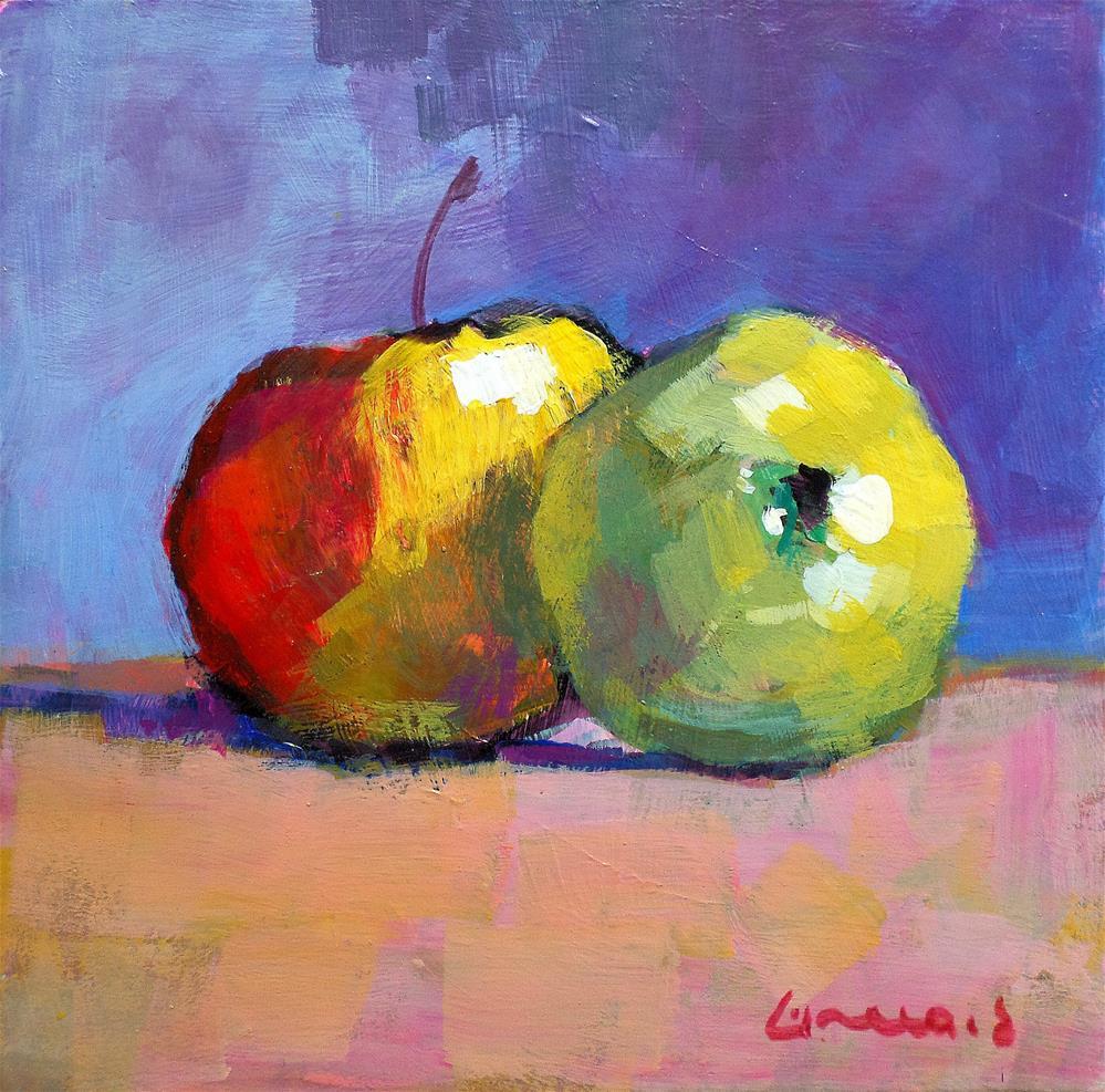 """""""apple"""" original fine art by salvatore greco"""