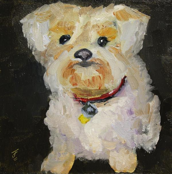 """""""Buzzy"""" original fine art by Jane Frederick"""
