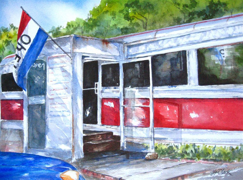 """Good Food"" original fine art by Judith Freeman Clark"