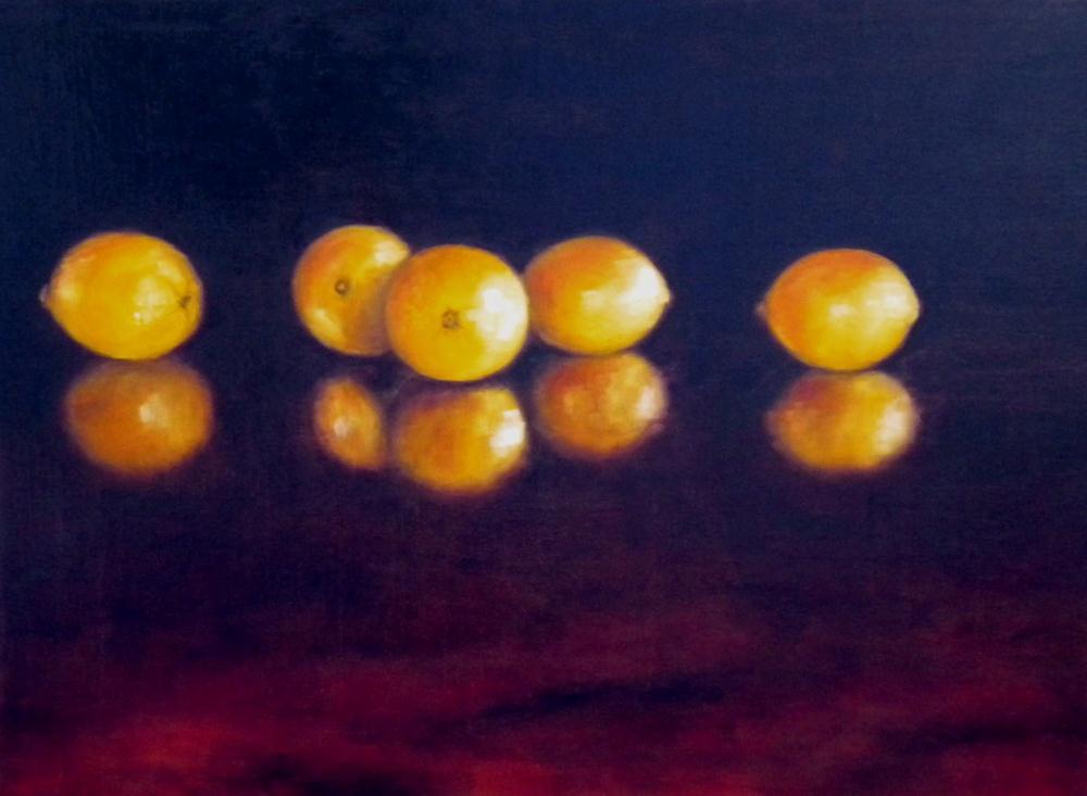 """Starting Line-up"" original fine art by Darla McDowell"