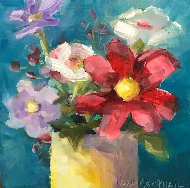 """""""party pack"""" original fine art by Nora MacPhail"""