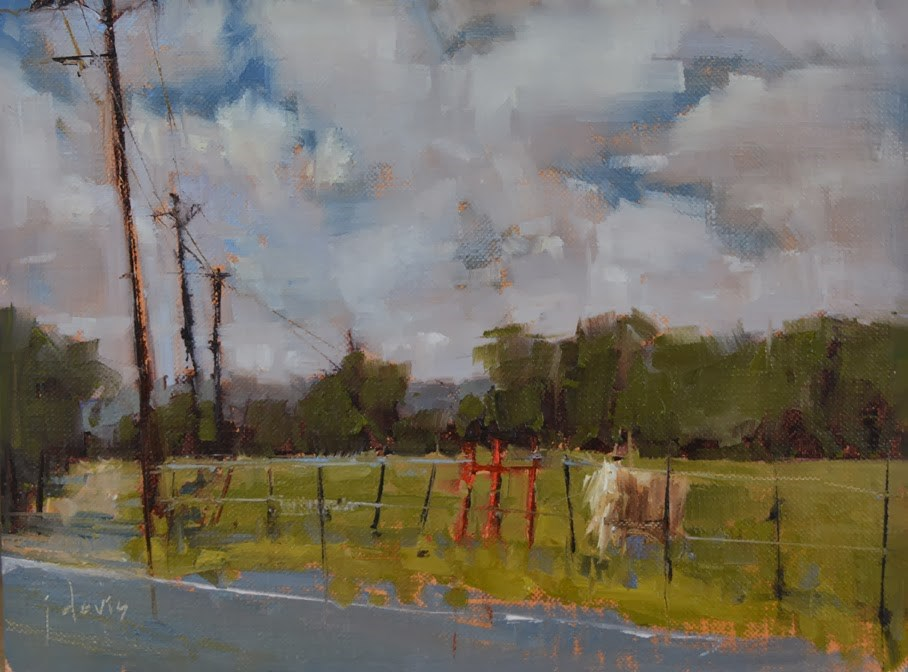 """Texas Connection"" original fine art by Julie Davis"