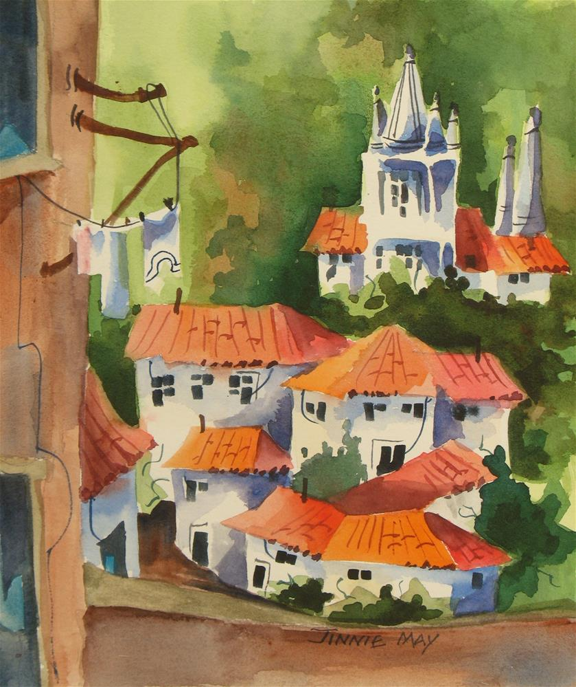 """Sintra , Portugal"" original fine art by Jinnie May"