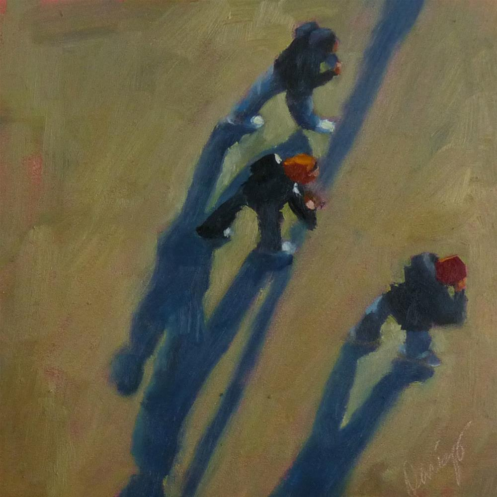 """""""3....But What Road?"""" original fine art by Sharman Owings"""