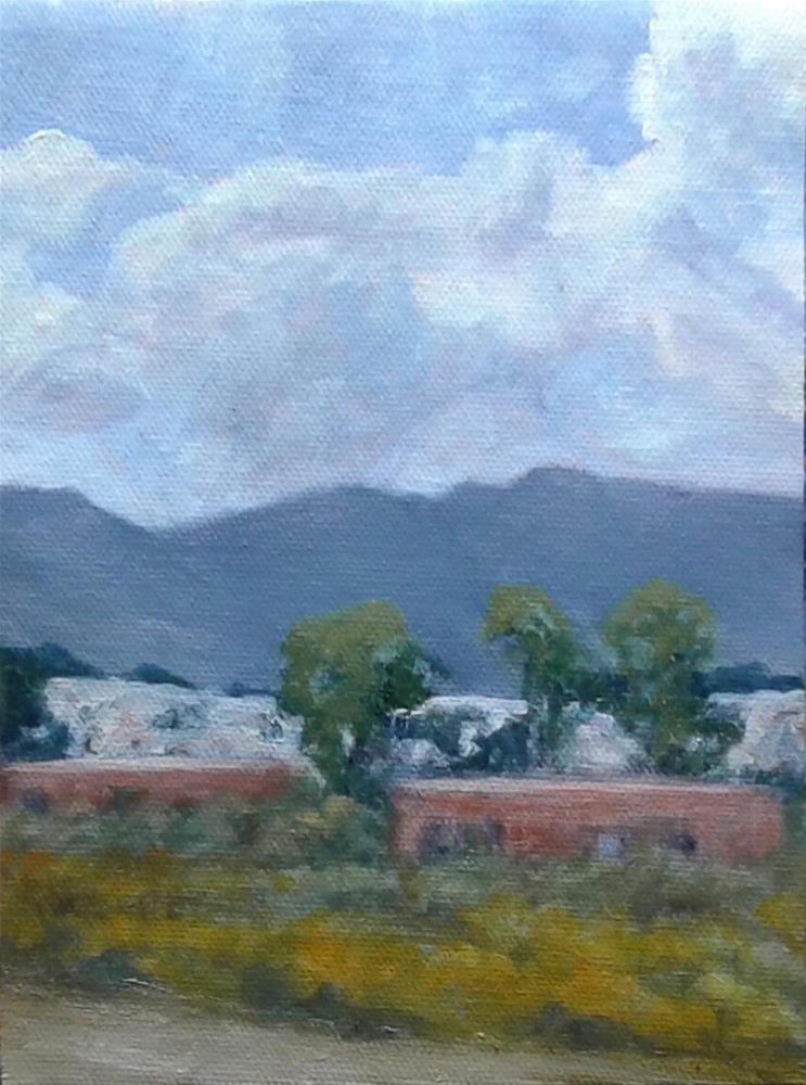 """Driving Past White Sands"" original fine art by Candi Hogan"