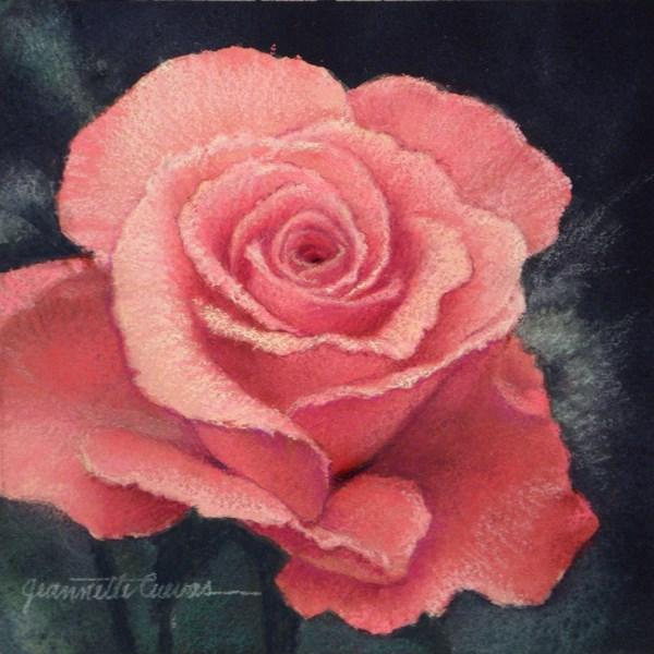 """Sweet Surrender"" original fine art by Jeannette Cuevas"