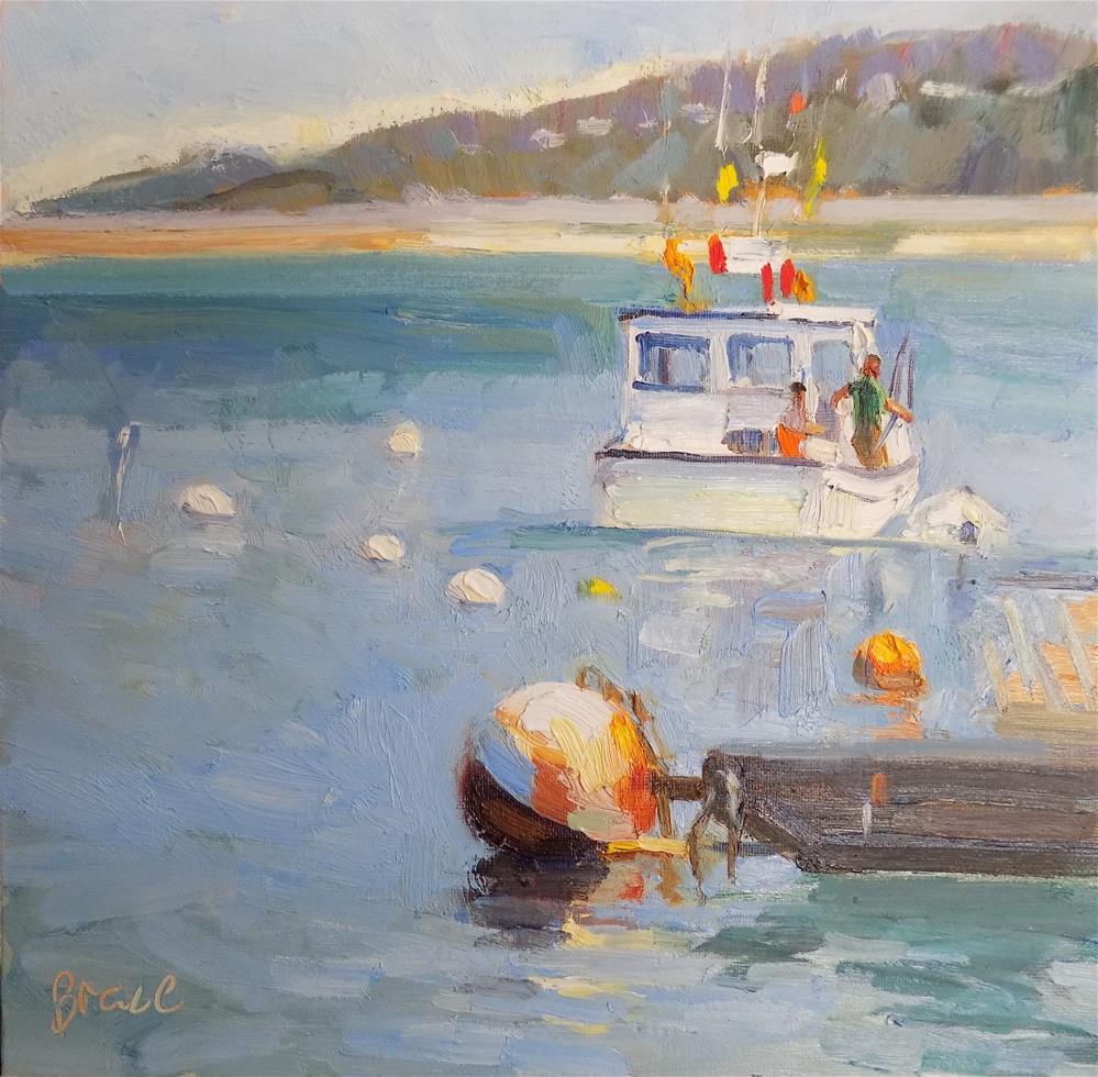 """""""Sea Fever"""" original fine art by Rita Brace"""