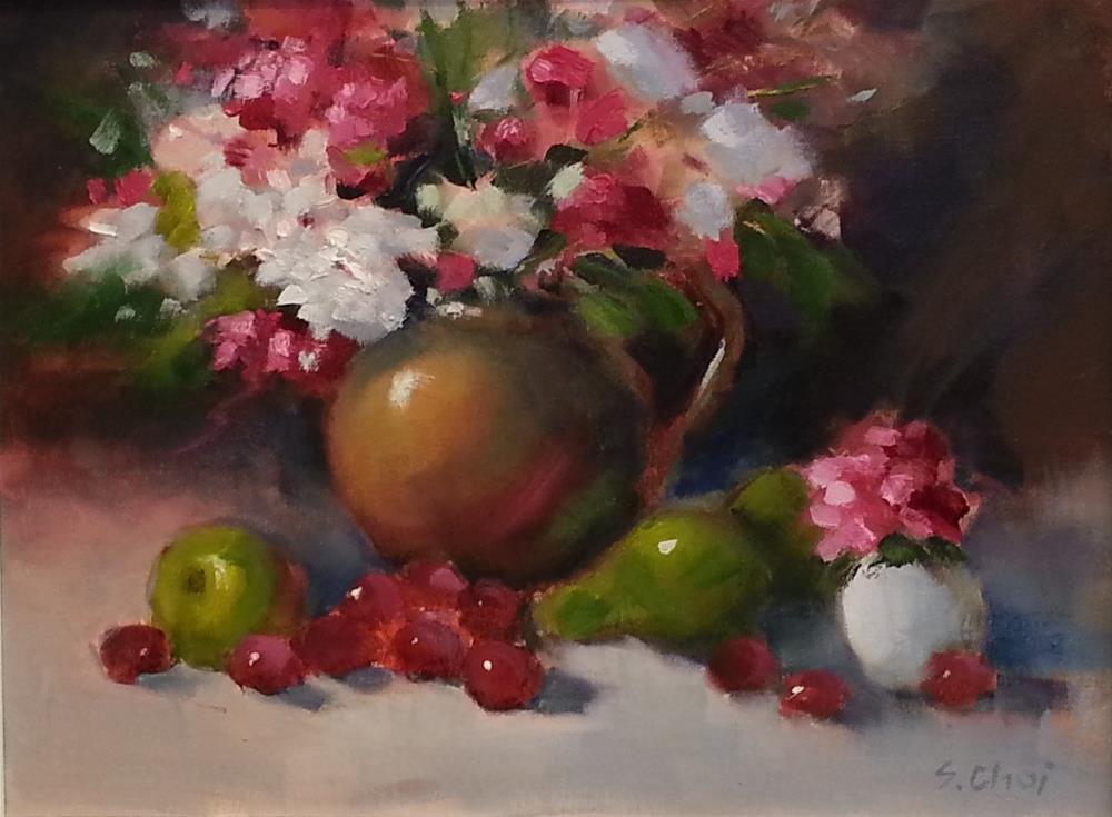 """Lilac"" original fine art by Sunkyung Choi"