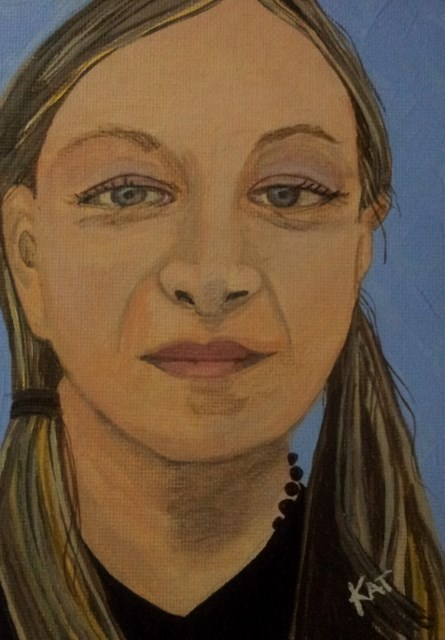 """Ava"" original fine art by Kathleen Carrier"