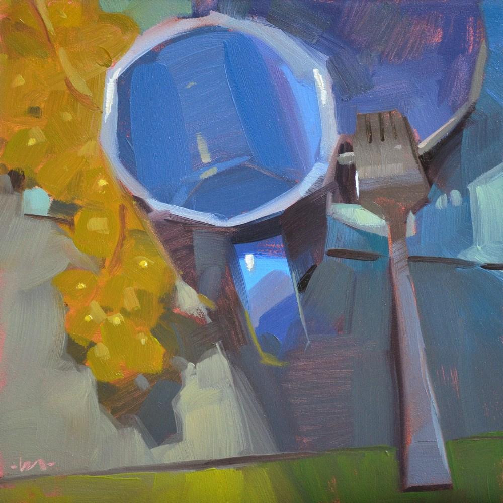 """Midnight Rendezvous"" original fine art by Carol Marine"