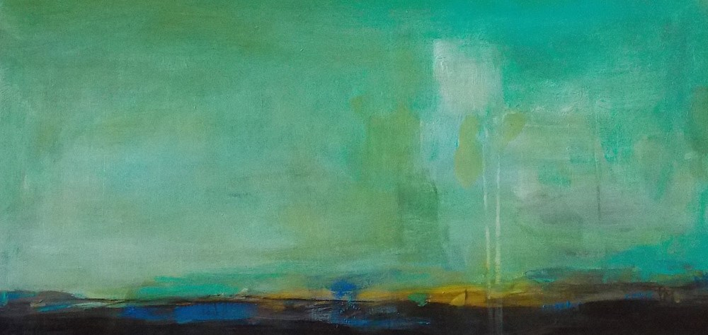 """Turquoise Sky"" original fine art by Pamela Munger"