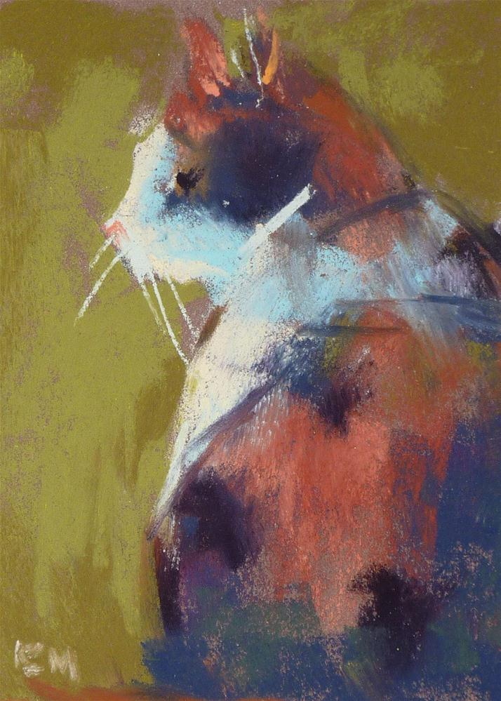"""Calico Love"" original fine art by Karen Margulis"