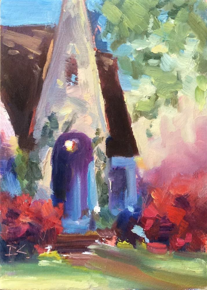 """""""HOME TOURS """" original fine art by Doug Carter"""