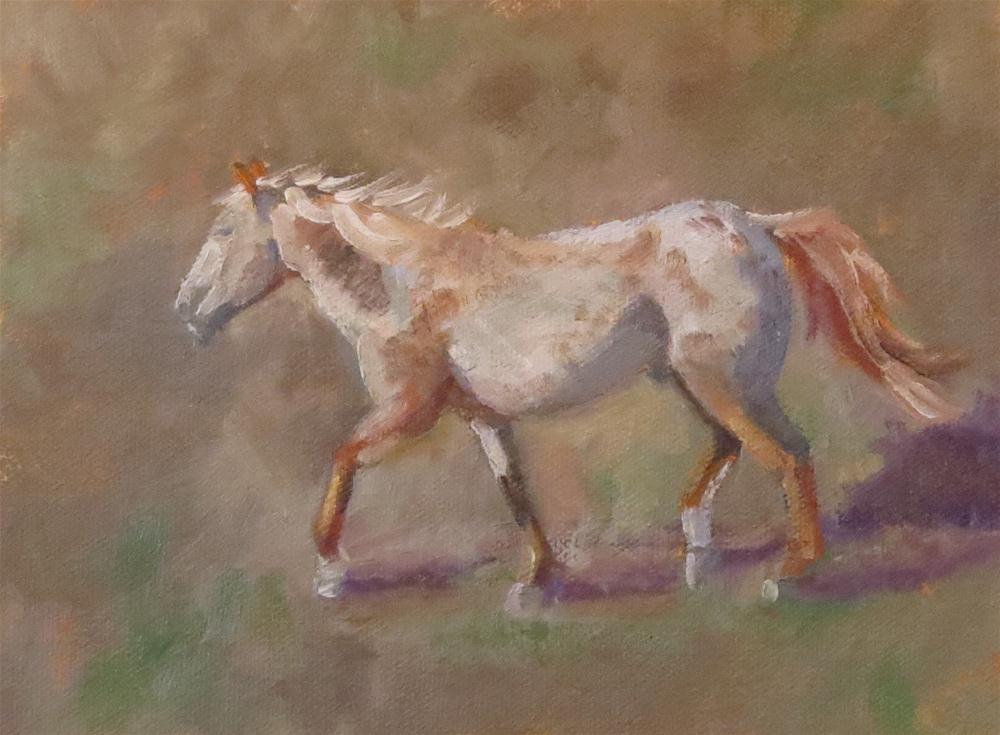 """Study of Chief #1"" original fine art by Pam Holnback"