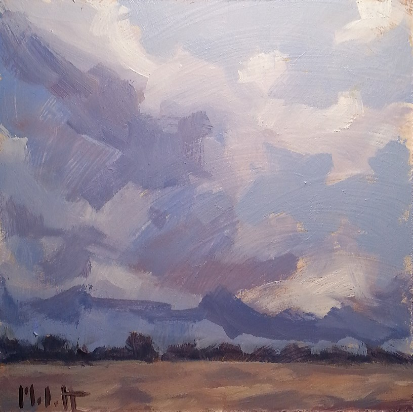 """Fresh Air Oil Painting Landscape Heidi Malott"" original fine art by Heidi Malott"