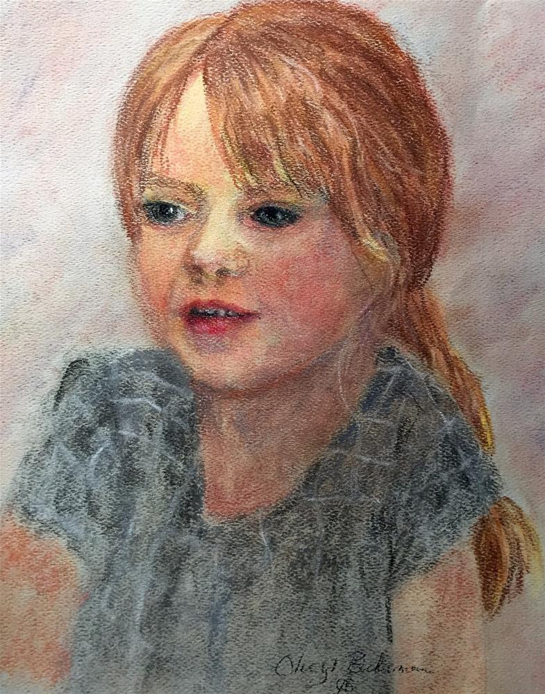 """Millie"" original fine art by cheryl buhrman"