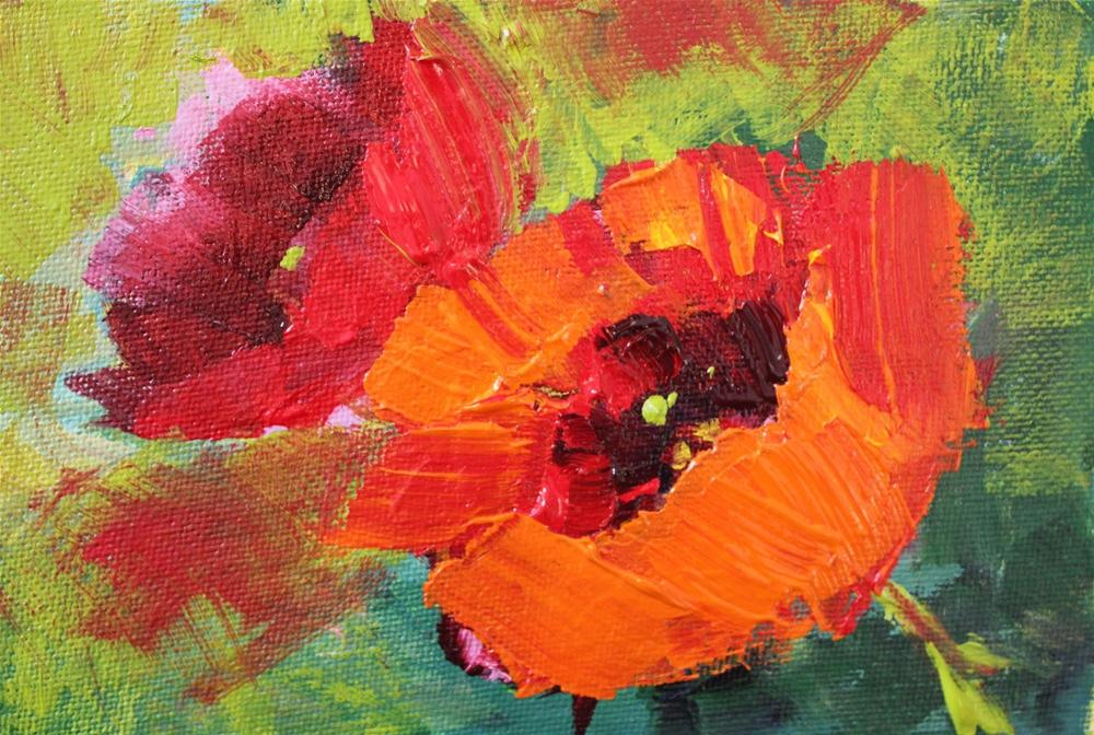 """""""Poppies"""" original fine art by Amy Whitehouse"""