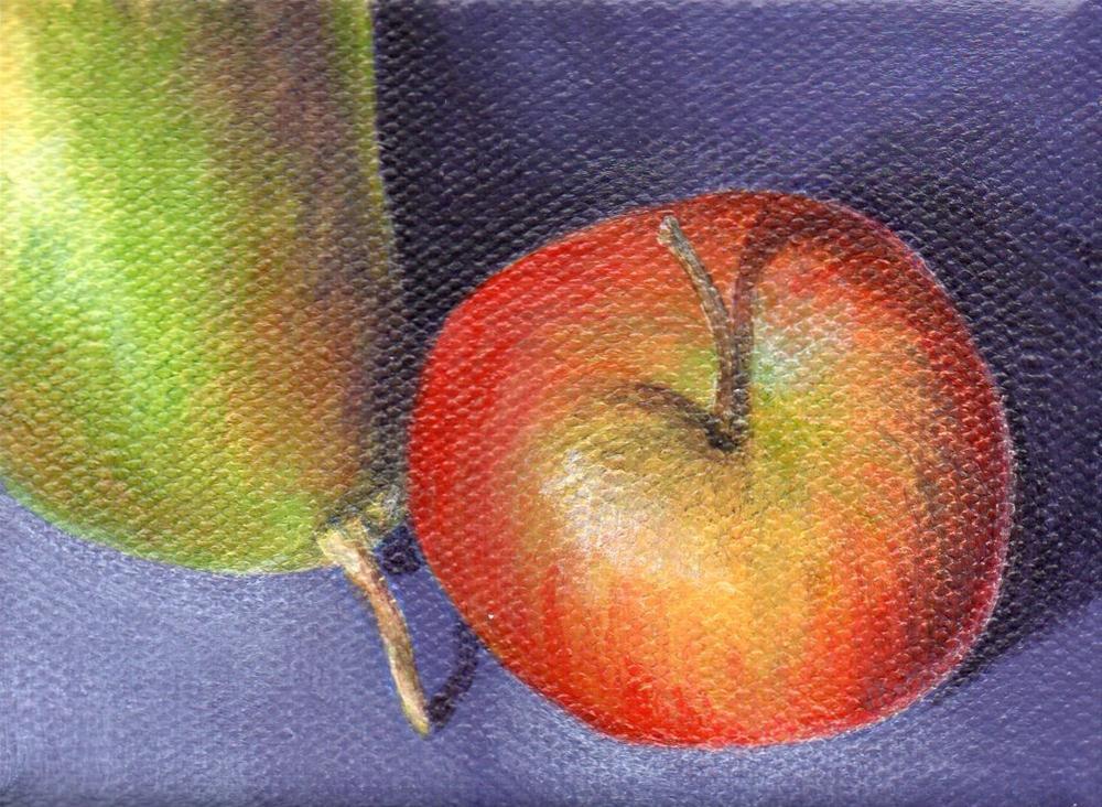 """Nestled"" original fine art by Debbie Shirley"