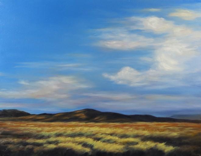 """""""Leaving in a Hurry"""" original fine art by Carol Zirkle"""