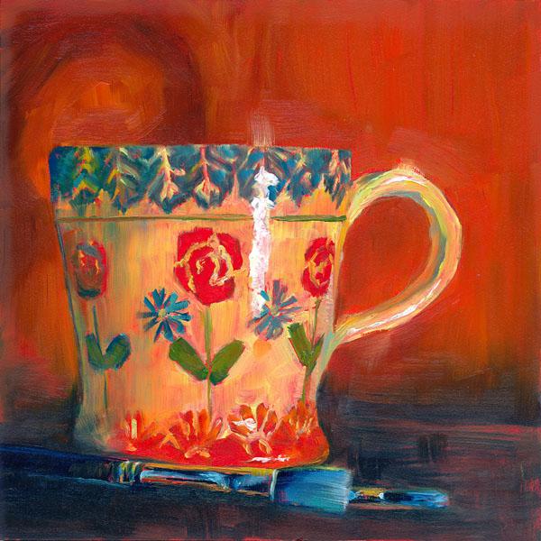 """""""A Few of My Favorite Things"""" original fine art by Brenda Ferguson"""