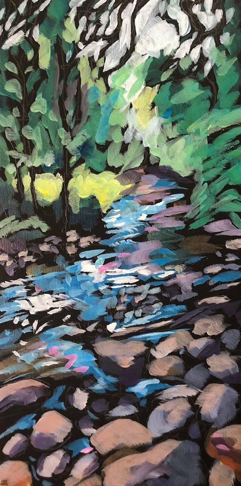 """Moir Park The Other Week"" original fine art by Kat Corrigan"