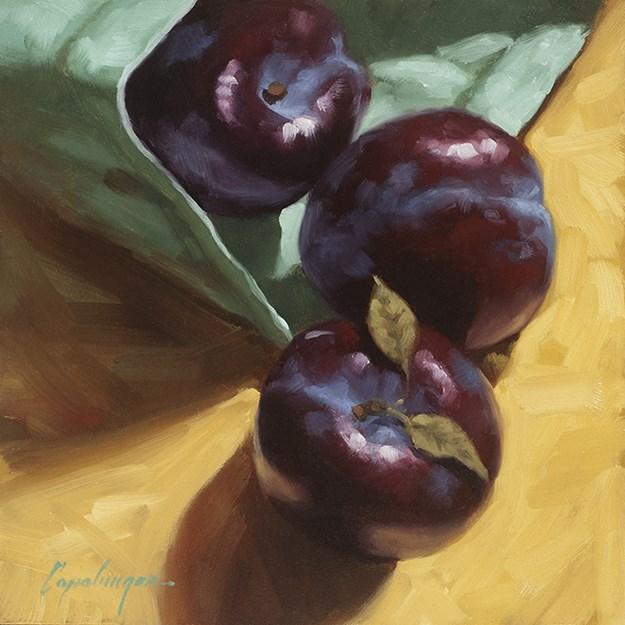 """Spilled"" original fine art by David Capalungan"