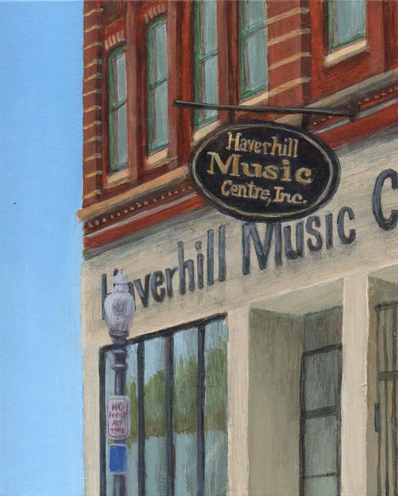 """Haverhill Music"" original fine art by Debbie Shirley"