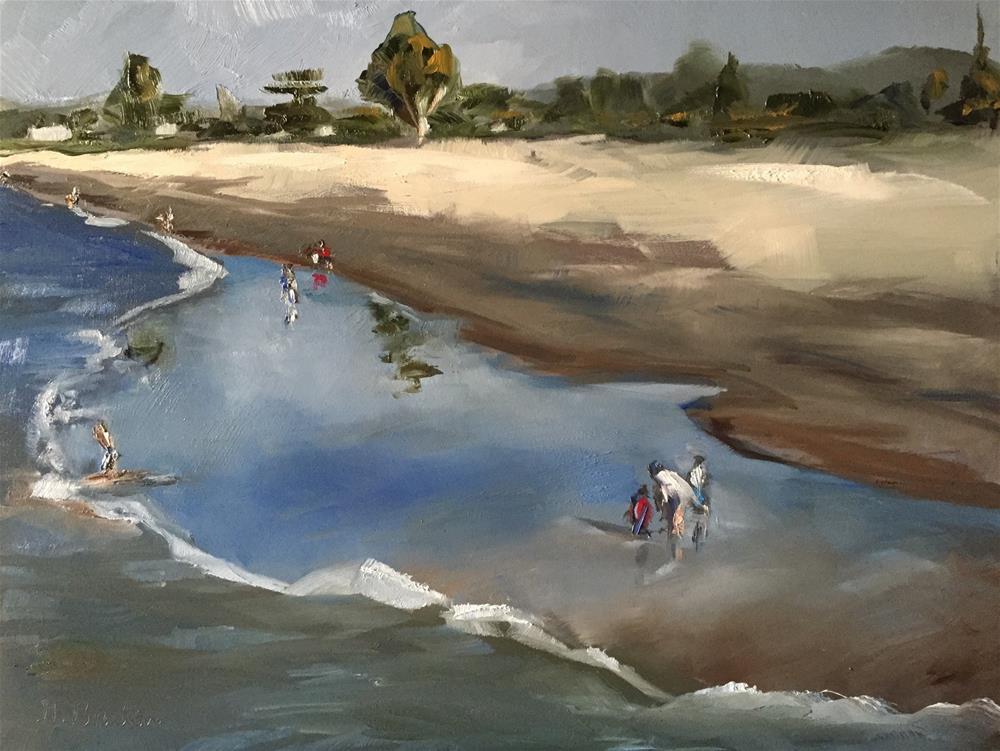 """By the Sea"" original fine art by Gary Bruton"