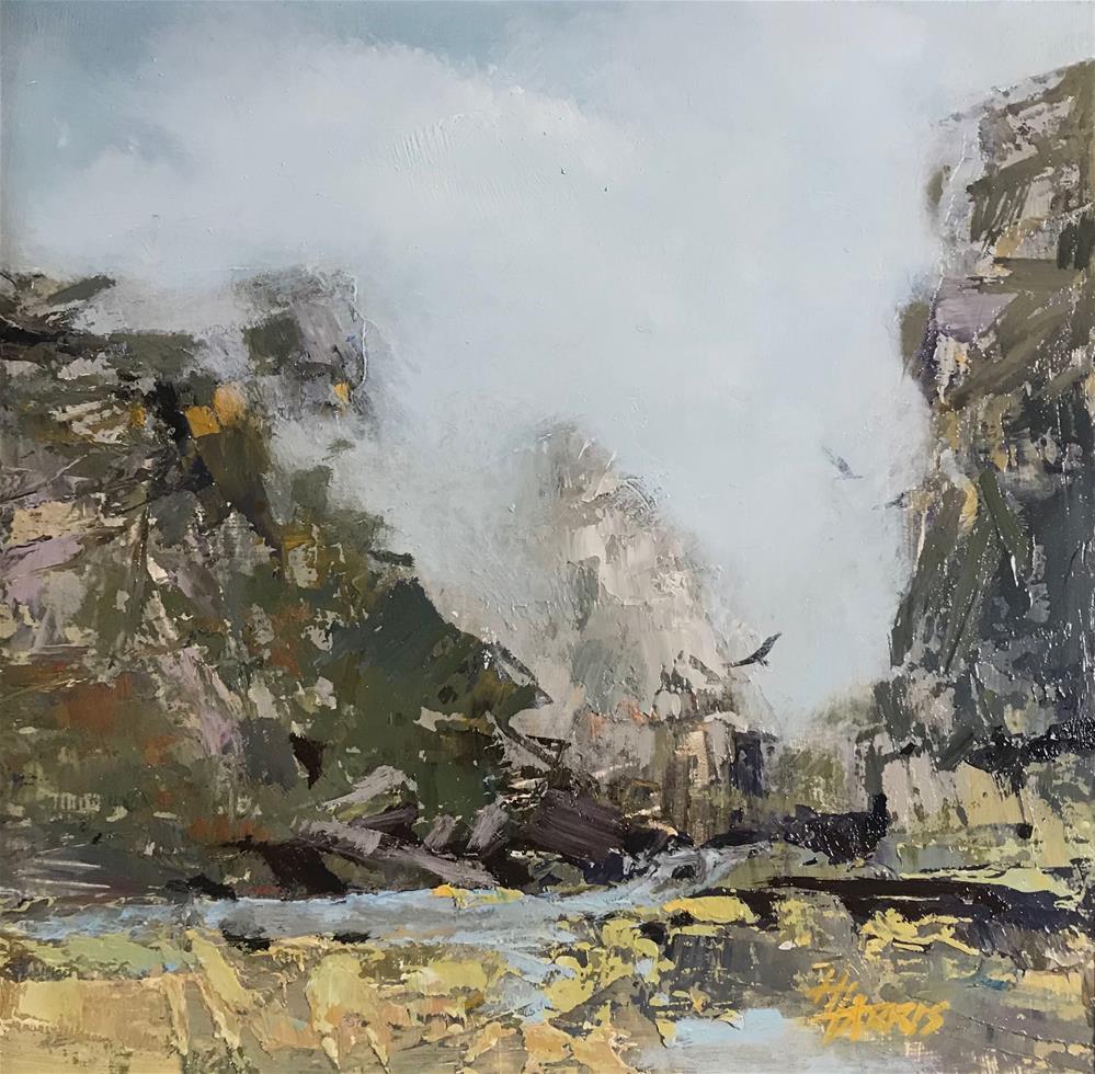 """""""Mountain High"""" original fine art by Helen Harris"""