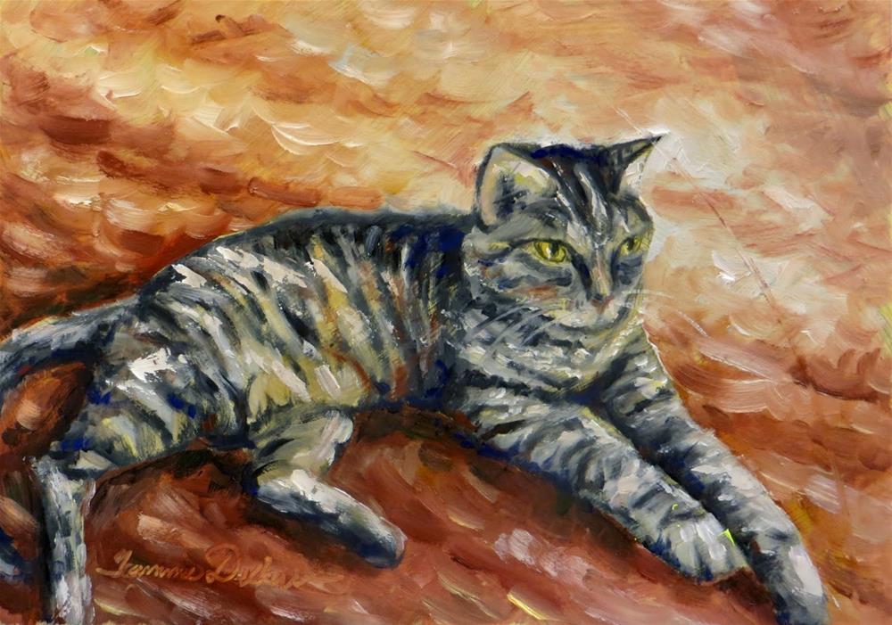 """Stormy"" original fine art by Tammie Dickerson"