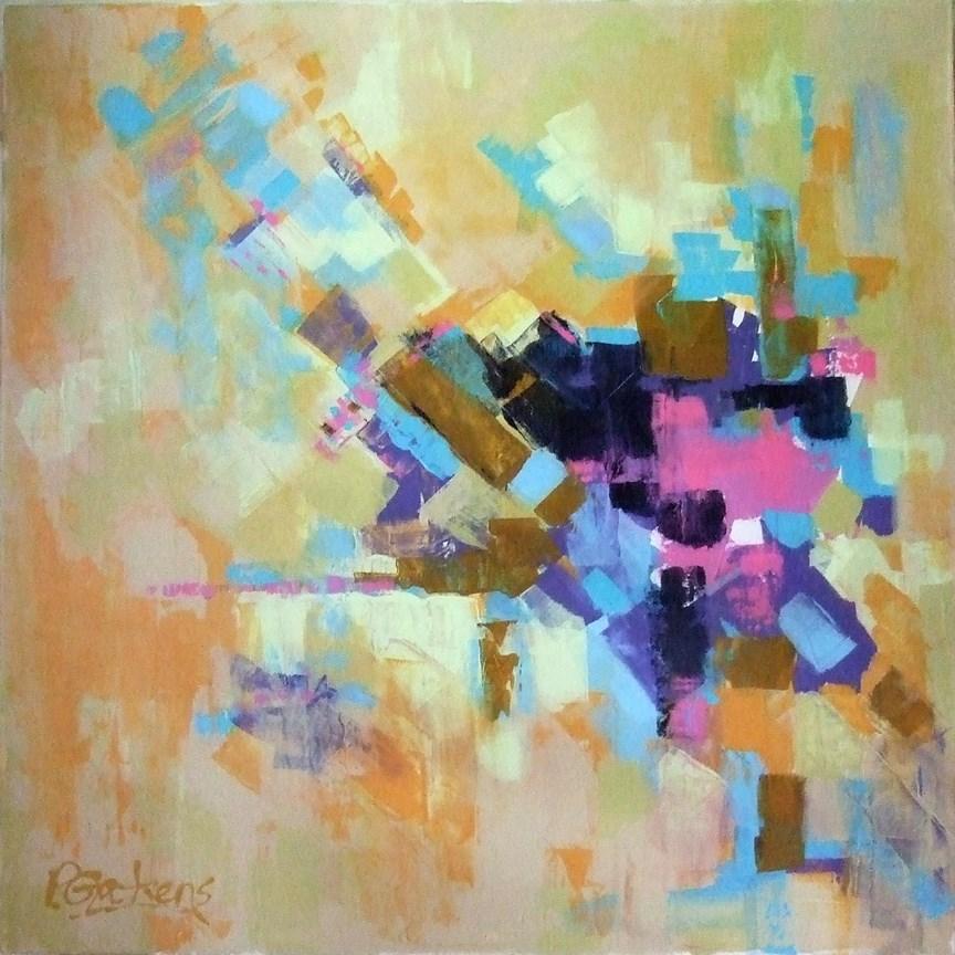 """Lily Pond"" original fine art by Pamela Gatens"