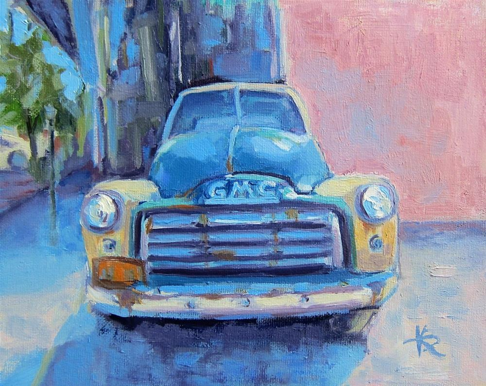 """GMC"" original fine art by Kathy Bodamer"