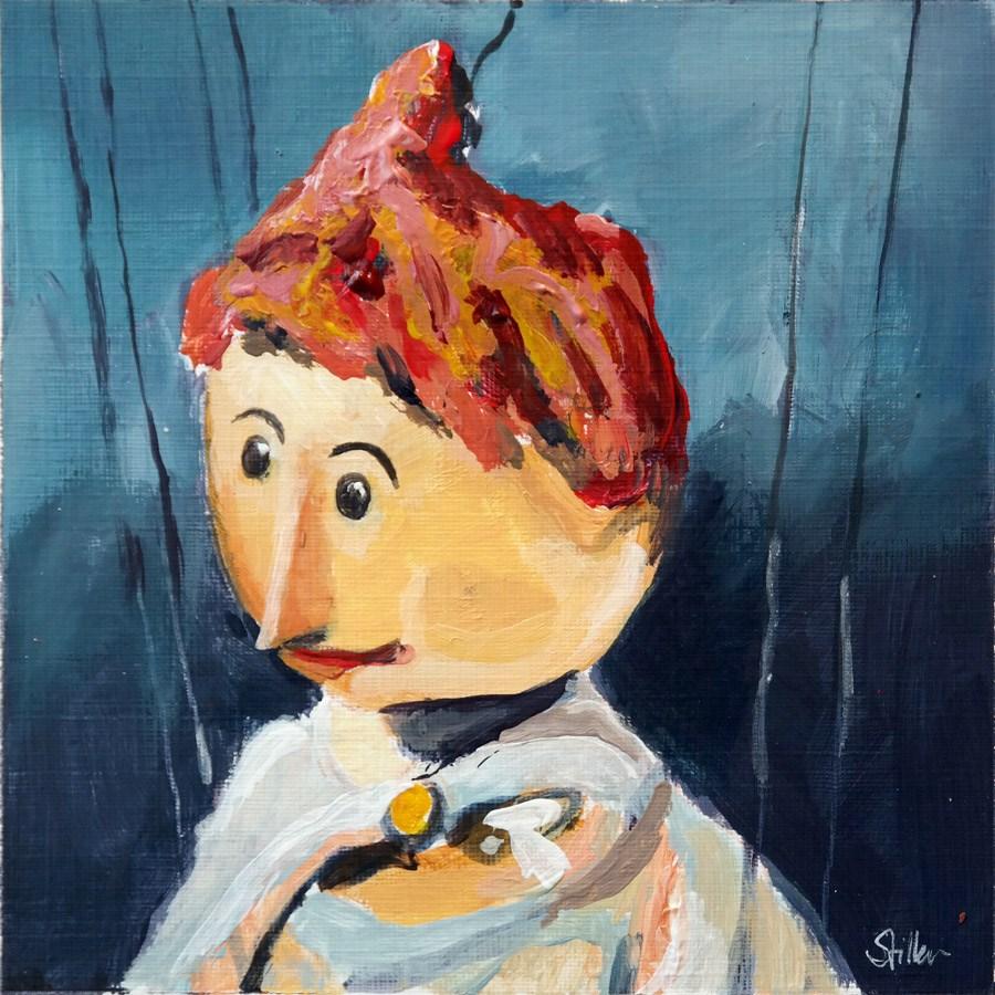 """""""1982 Mrs. Waas"""" original fine art by Dietmar Stiller"""