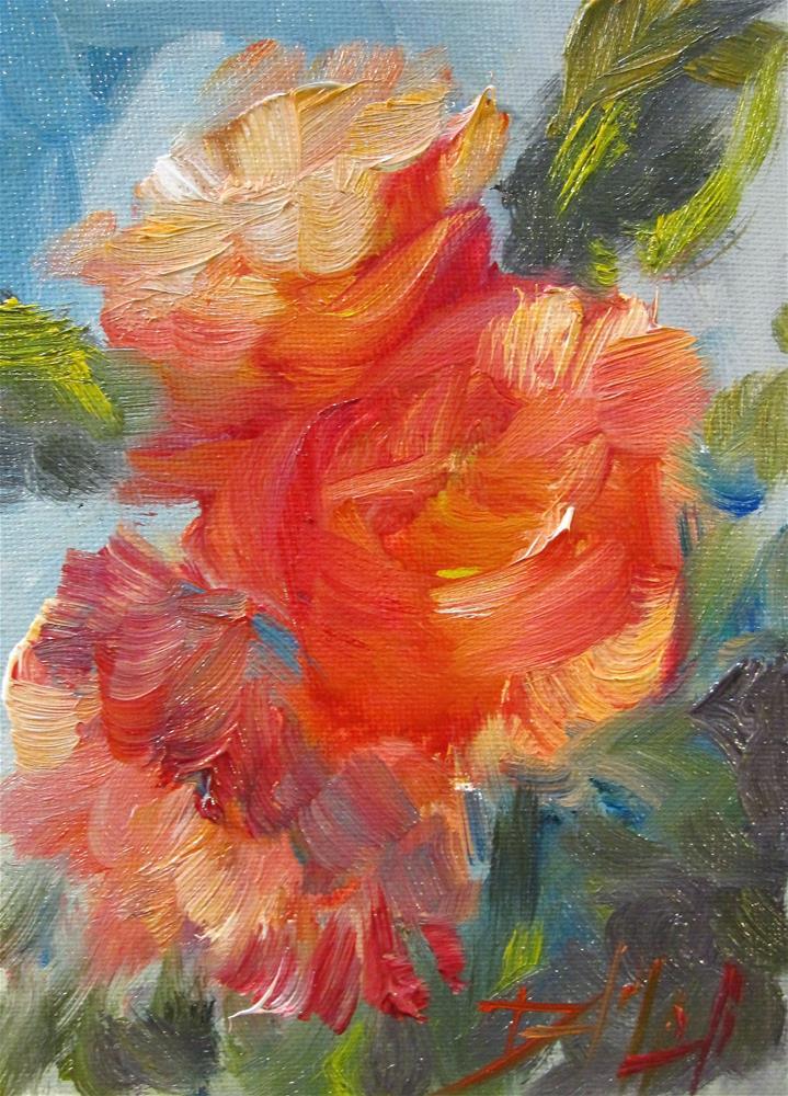 """""""Peonies No. 4"""" original fine art by Delilah Smith"""