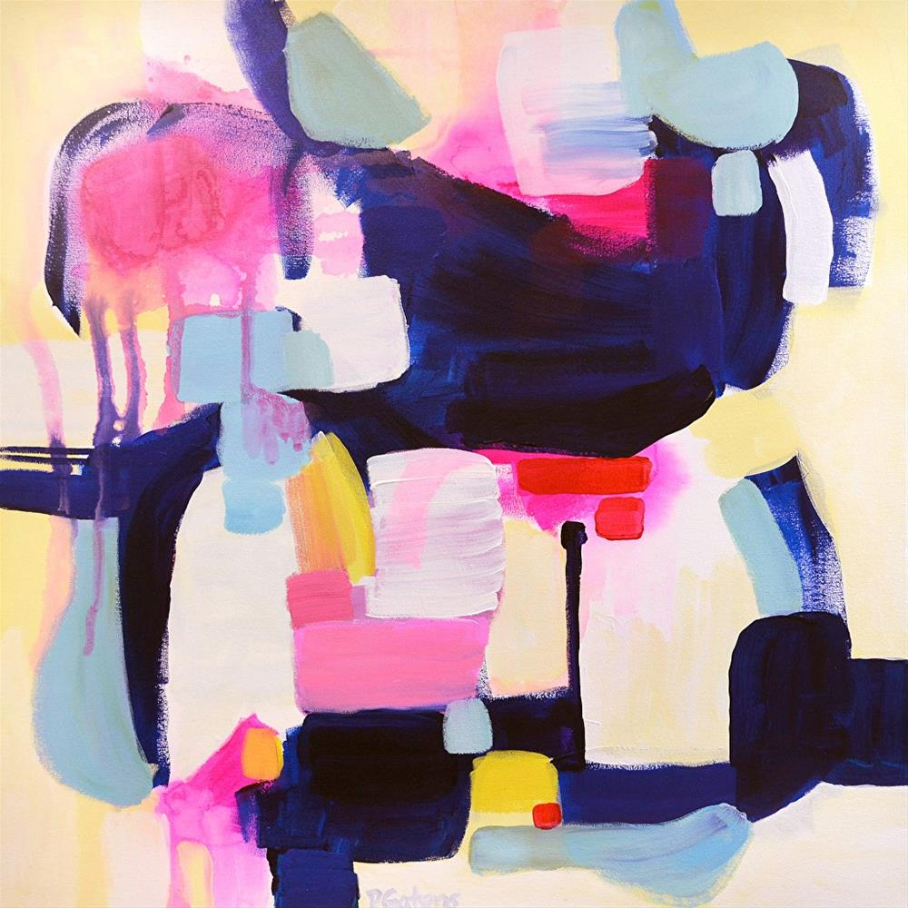 """Just Around the Corner"" original fine art by Pamela Gatens"