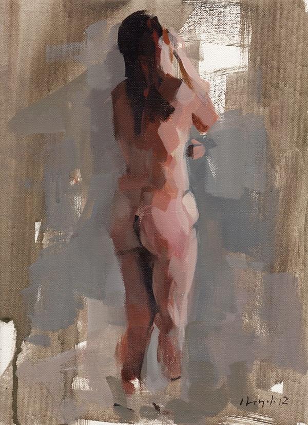"""Figure Study 1"" original fine art by David Lloyd"