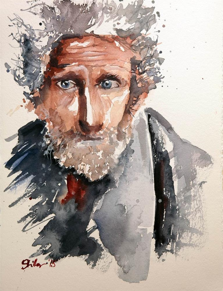 """1579 Hobo"" original fine art by Dietmar Stiller"