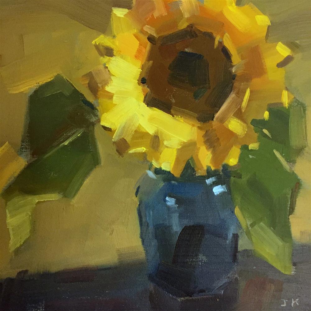 """""""Sunflower"""" original fine art by Jiyoung Kim"""