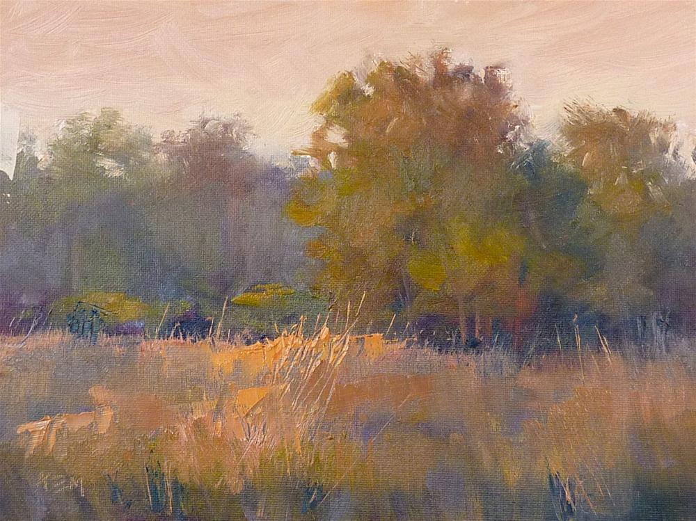 """Marc Hanson Workshop Report Day 3"" original fine art by Karen Margulis"
